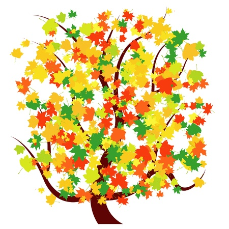 Autumn - Fall Tree Stock Vector - 10690447