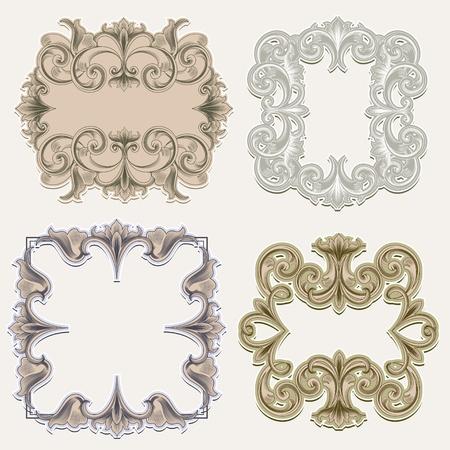 Victorian Frames Stock Vector - 11133395