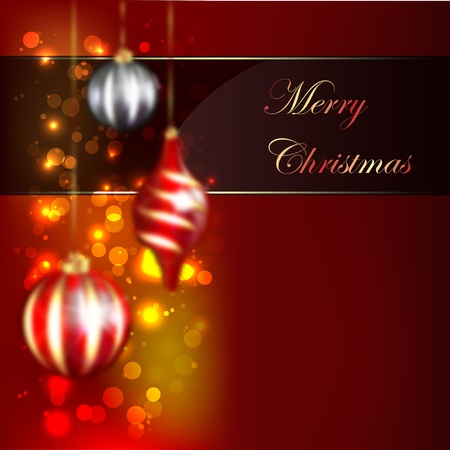 Christmas Blurred Design Vector