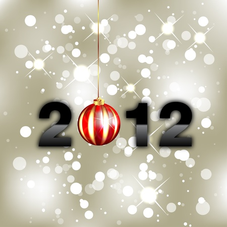 New Year Background - 2012 Stock Vector - 11433010