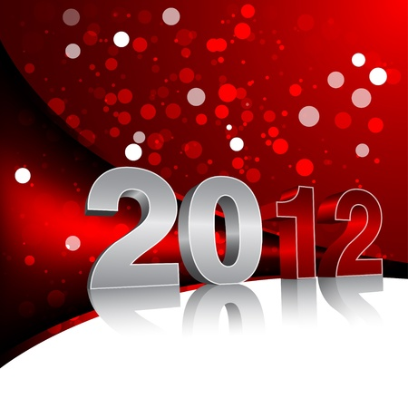 New Year Design Template - 2012