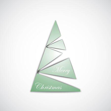 Abstract Christmas Tree Stock Vector - 11657117