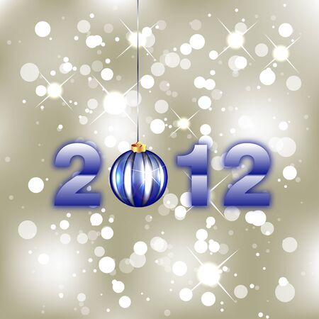 New Year Background - 2012 Stock Vector - 11657119