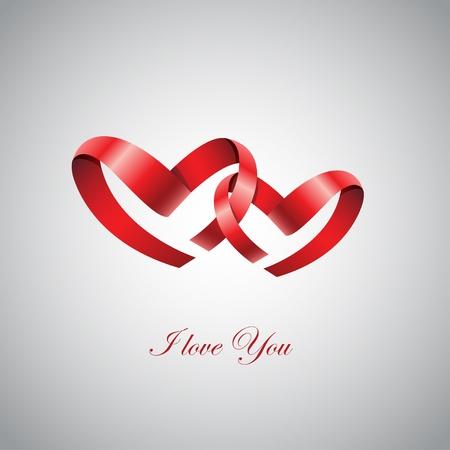 inlove: Two Ribbon Hearts Inlove