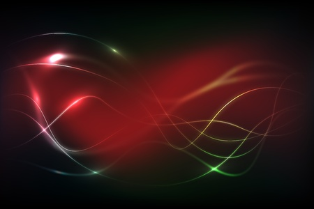 Red Background With Lines Vector