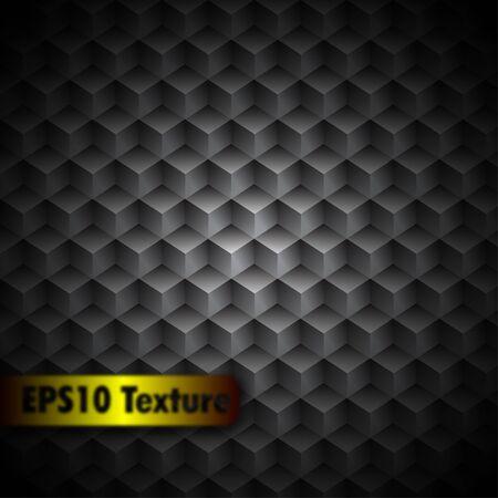 Cubic Metal Texture Stock Vector - 12908227