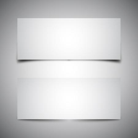 Two Box Shadows - Vector Format Vector
