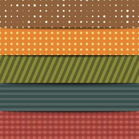 Patchwork Set Vector