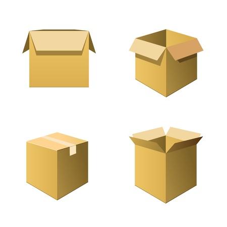 storage box: Cardboard Boxes