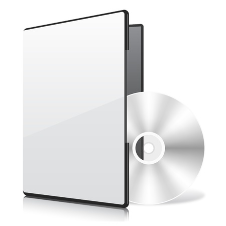 rom: Blank Case and Disk Illustration