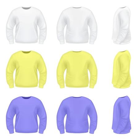 zipper hooded sweatshirt: Mens Sweater