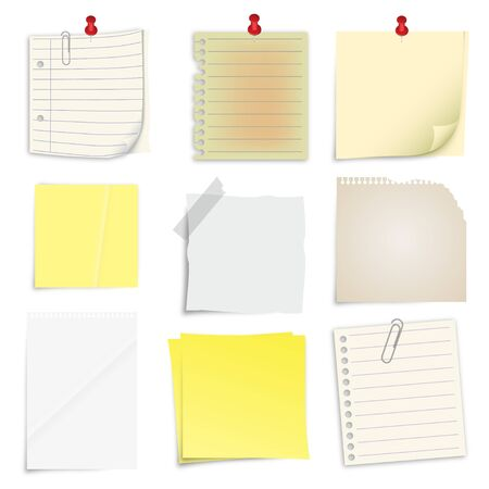 post it note: Set di post it note