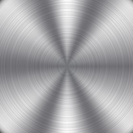 on metal: De metal de fondo Vectores