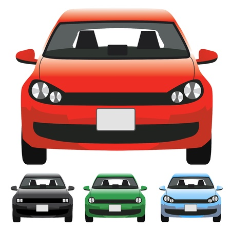 front wheel: Car