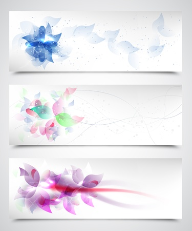 Floral Vector Backgrounds Stock Vector - 14754024