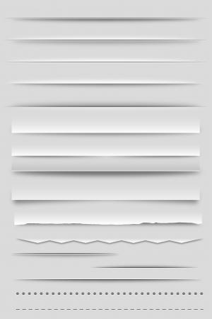sombras: Divisores Web e sombras