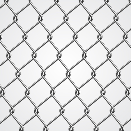 Metal Fence Stock Vector - 14754014
