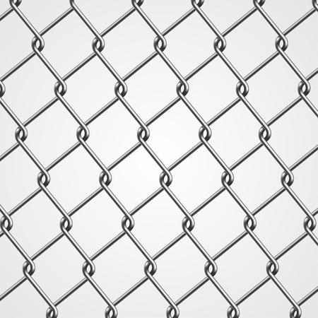 Metal Fence Stock Vector - 14754014