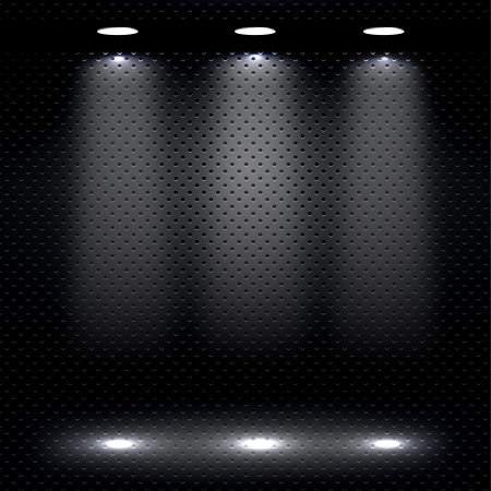 Showroom Lights Vector