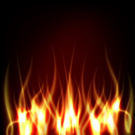 Vector Fire Stock Vector - 15130386