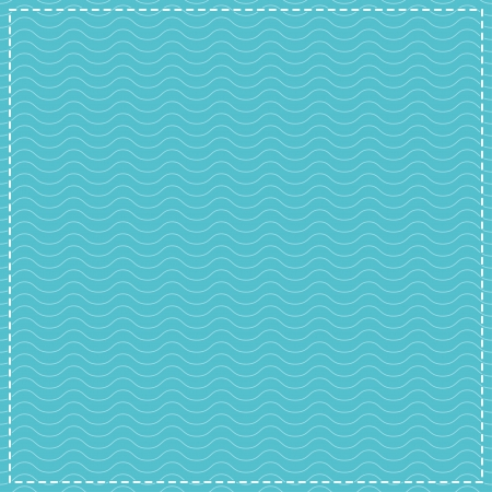 Water Waves Pattern Vector