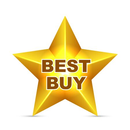 Best Buy Star Tag Vector