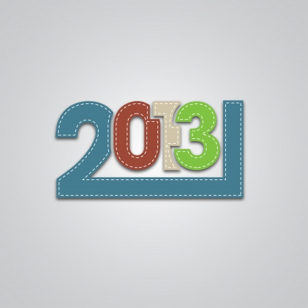 New 2013 Year Design Stock Vector - 16364671