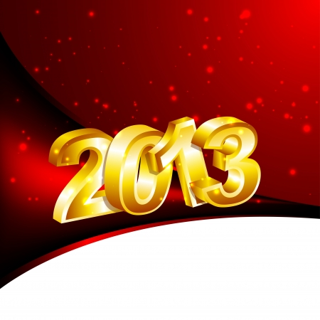 New 2013 Year Design Template Stock Vector - 16364669