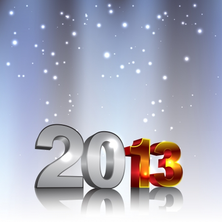 New 2013 3d Year Numbers Stock Vector - 16364667