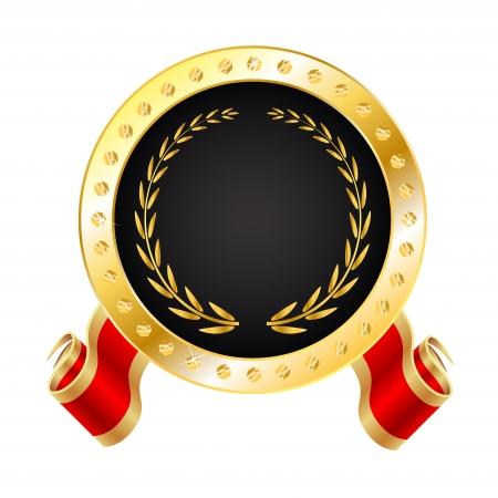 signatory: Golden Winner Medal - Seal