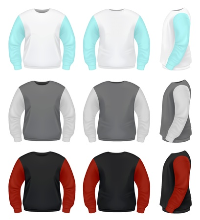 Men s Sweater Vector