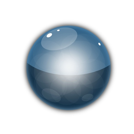 Glass Sphere Stock Vector - 18230867