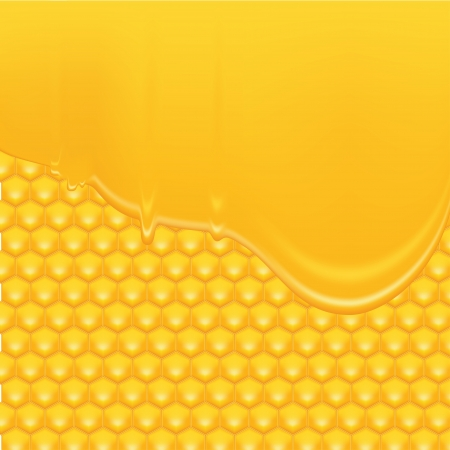 beekeeping: Honey Background 2 Illustration