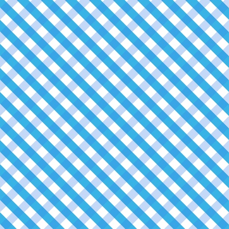 Blue Gingham  Stock Vector - 18373605