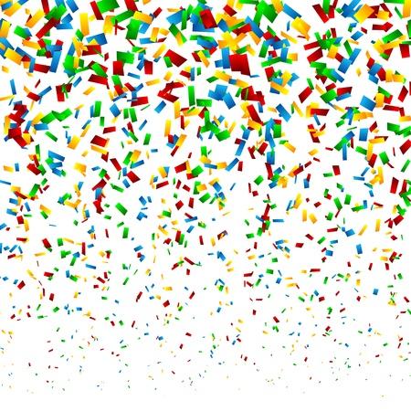 Confetti Background Stock Vector - 18373599