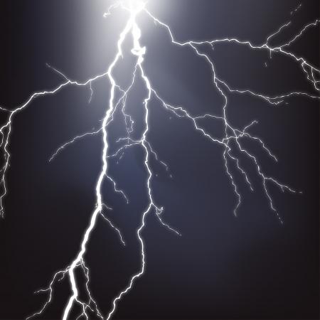 lightning strike: Vector Lightning