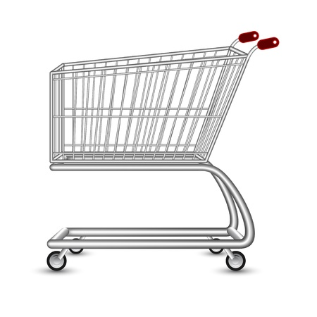 Shopping Cart Stock Vector - 18373594
