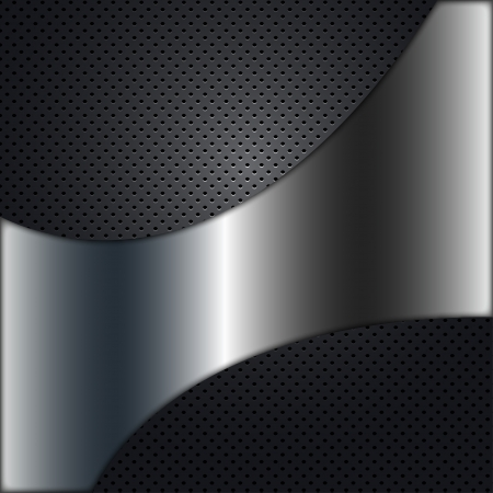 3d carbon: Metal Background