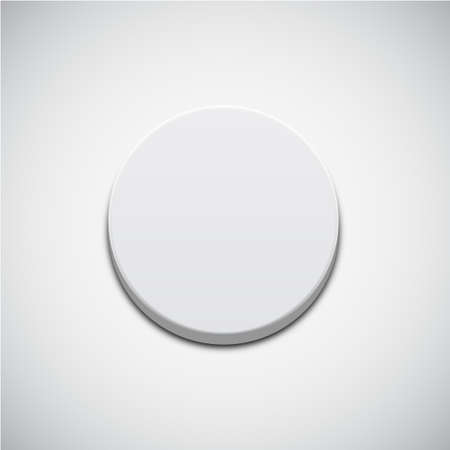 satined: White Button