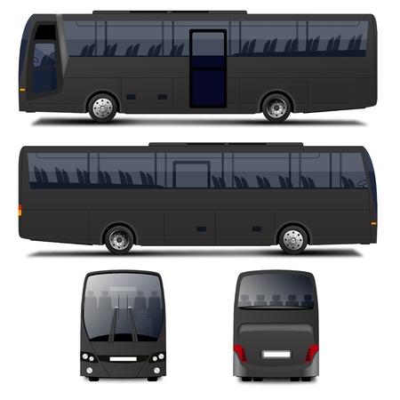 Vector Bus Banco de Imagens - 21726223