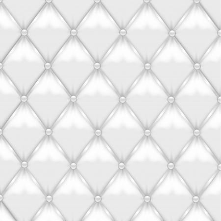 muster: Weißes Leder-Polsterung