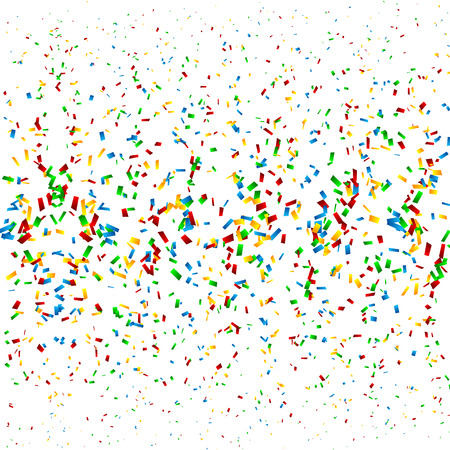 party streamers: Confetti Background