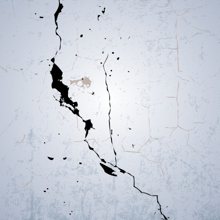 cracked wall: Cracked Wall