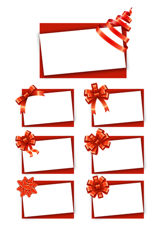 Gift Cards with Ribbons