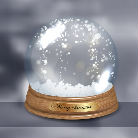 augur: Empty Snow dome