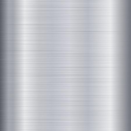 ブラシをかけられた金属のテクスチャ  イラスト・ベクター素材