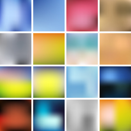 smooth background: Colorful Smooth Background Set