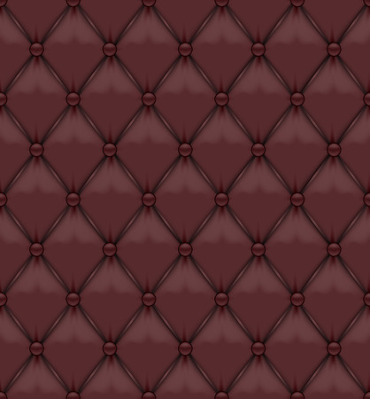 upholstered: Seamless Brown Leather Upholstery