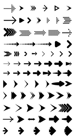 arrowheads: Vector Arrow Collection - with arrow brush library