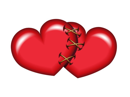 two hearts: Two Hearts Tied